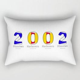2002 - NAVY - My Year of Birth Rectangular Pillow