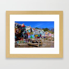 It's a Table in Water -5 Framed Art Print