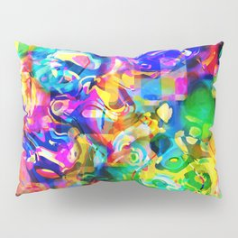 Psychedelic Abstract Pillow Sham