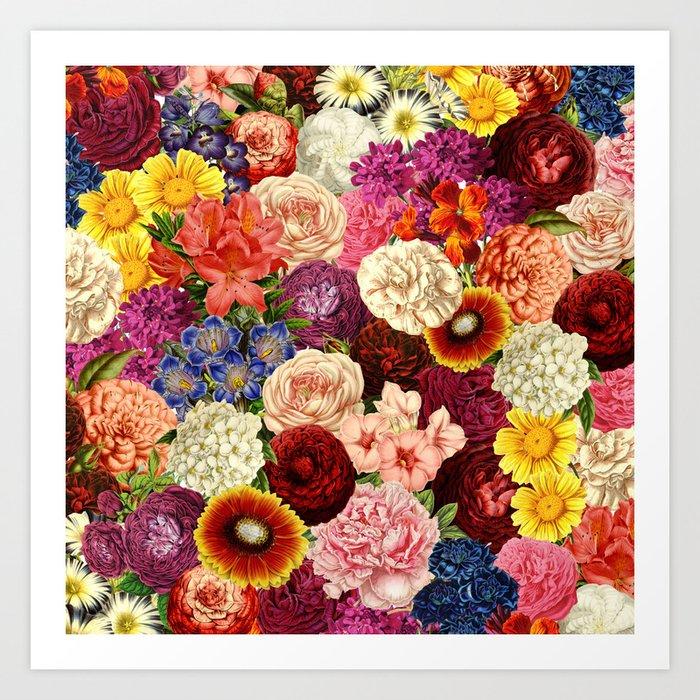 Spring Explosion Art Print