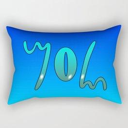 John (Ambigram) Namendreher Rectangular Pillow