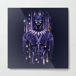 Bright Panther Metal Print
