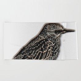 Norfolk sparrow Beach Towel