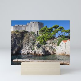 Fort Lovrijenac in Dubrovnik Mini Art Print