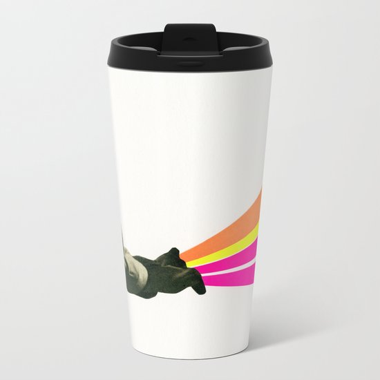 Superhero Metal Travel Mug