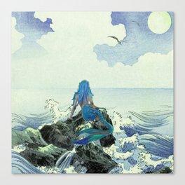 Beauty Mermaid Canvas Print