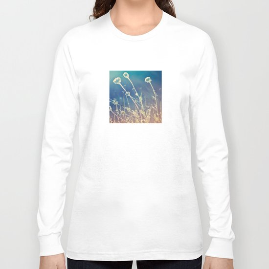 Blue and day  Long Sleeve T-shirt
