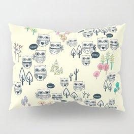 Forest Of Owls Pillow Sham