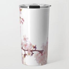 Cherry Blossom Flowers Travel Mug