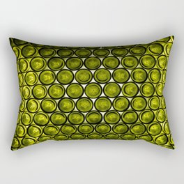 bottle tops pattern Rectangular Pillow