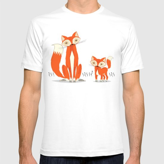 Two Fine Foxes T-shirt