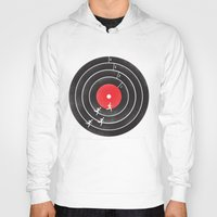 running Hoodies featuring Vinyl Running by Mateus Quandt