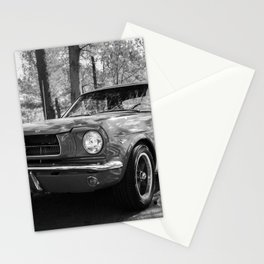 Classic Muscle Car Stationery Cards