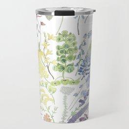 Rainbow Floral Travel Mug