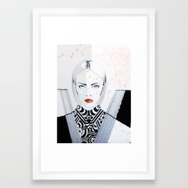 Carla Framed Art Print