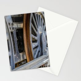 Locomotion wheels Stationery Cards