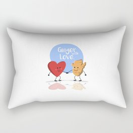 Ginger with Love Rectangular Pillow