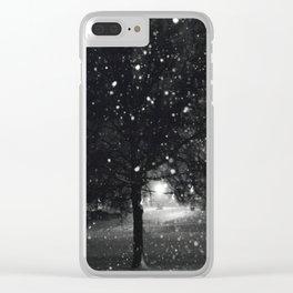Blizzard Jonas 2016 Clear iPhone Case