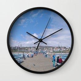 San Clemente Pier Wall Clock