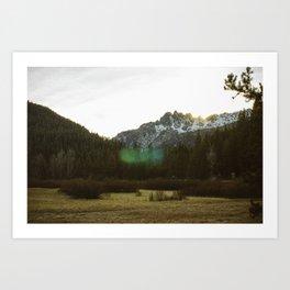 Buttes Art Print