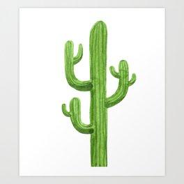 Cactus One Art Print