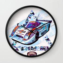 """Lancia LC2 """"Lancia-Ferrari""""// Le Mans Race Cars Wall Clock"""