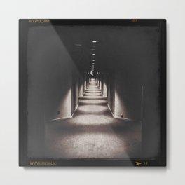 Corridor Metal Print