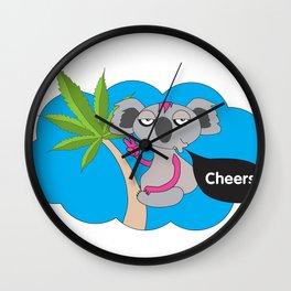 Cheers mates Wall Clock