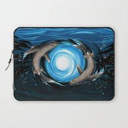 Shark Mandala Laptop Sleeve