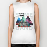 band Biker Tanks featuring Best Band by The Last Universe