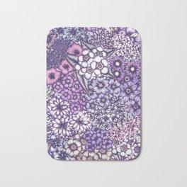 Faded Blossoms Bath Mat