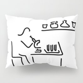 laboratory assistant lab Pillow Sham