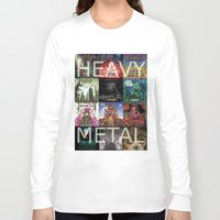heavy metal Long Sleeve T-shirts featuring Heavy Metal by Michael Keene