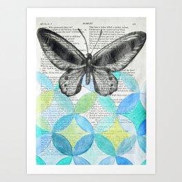 Enter Ophelia Art Print