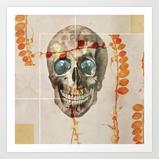 skull#04 Art Print