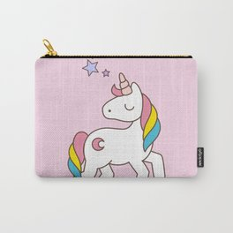 Nope Unicorn Carry-All Pouch