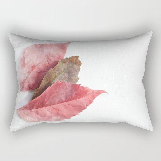 AUTUMN LEAVES #1 #decor #art #society6 Rectangular Pillow
