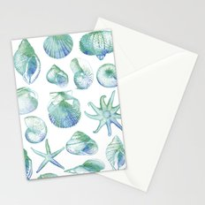 you, me & the sea Stationery Cards