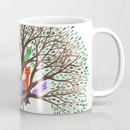 Topeka Whimsical Cats in Tree Coffee Mug