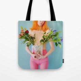 esmee as me with flowers Tote Bag