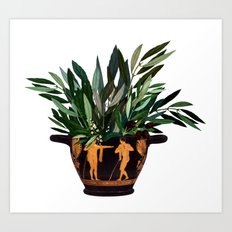 Ancient Greek 2 Art Print