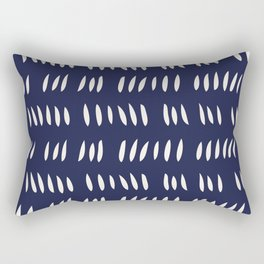 MATISSE ABSTRACT CUTOUTS . BLUE WHITE Rectangular Pillow