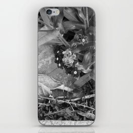 Black Buzzy iPhone Skin
