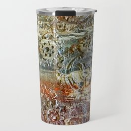 Mechanical Gear Abstract Travel Mug