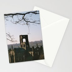 Kirkstall Abbey from the hill... Stationery Cards