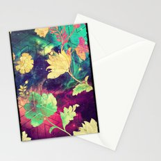 GALAXY FLOWERS - for iphone Stationery Cards