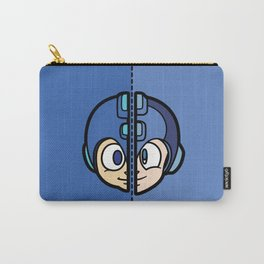 Old & New MegaMan Carry-All Pouch