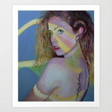 Hershey Kissed Art Print