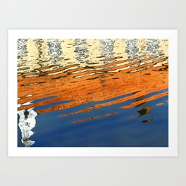 Ripples & Reflections Art Print