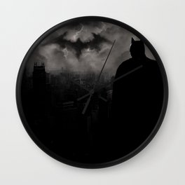 Bat man Madness Wall Clock